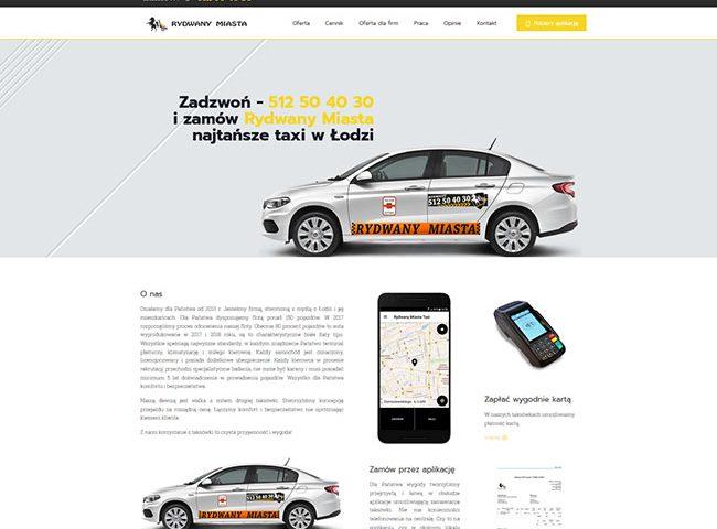 Strona www rydwanymiasta.pl